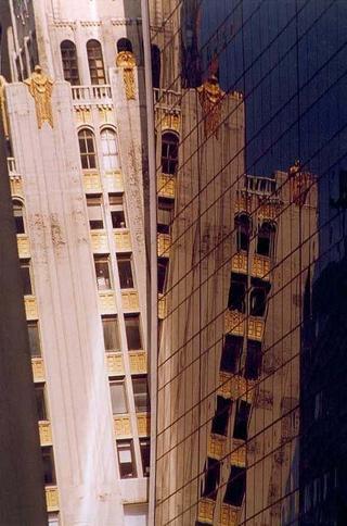 Mirrors, Manhattan by Anya Bartels-Suermondt