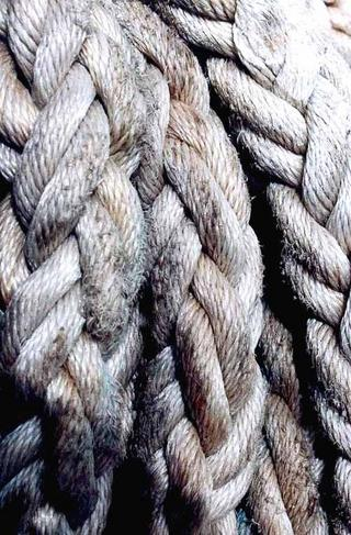 Ship Cables, Atlantic Ocean by Anya Bartels-Suermondt