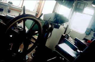 Captains Cabin, Atlantic Ocean by Anya Bartels-Suermondt