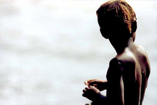 Girl's Back, Africa by Anya Bartels-Suermondt