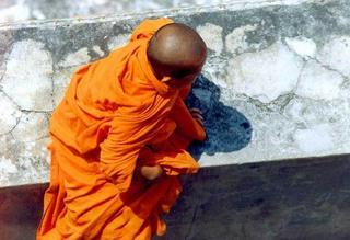 Monk, Bangkok by Anya Bartels-Suermondt