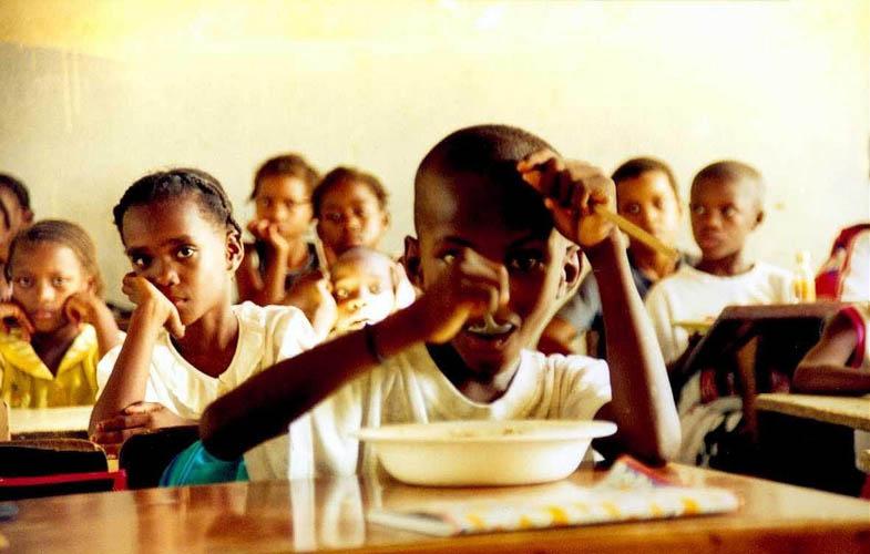 School, Africa by Anya Bartels-Suermondt
