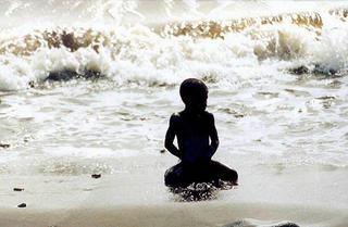 Boy & Ocean, Africa by Anya Bartels-Suermondt