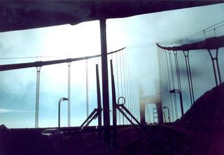 Foggy Golden Gate, San Francisco by Anya Bartels-Suermondt