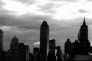 Smokestack, N.Y. Manhattan by Anya Bartels-Suermondt