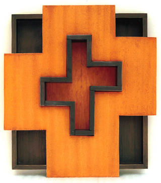 Construction, Double Cross by Artur Jiménez
