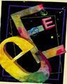 Digital Alphabet: Letter E by Angel Bellido