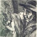 The Smoker by Carmen García Velasco