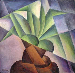 Green Flower by Jan Hinais