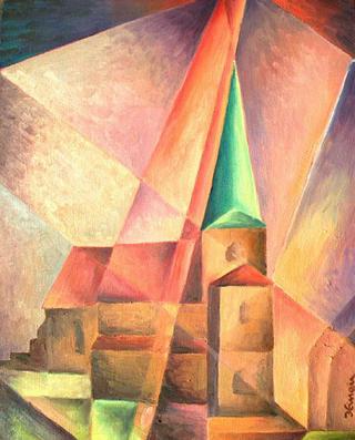 Church by Jan Hinais