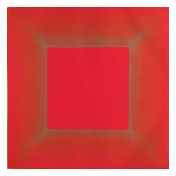 Summer Suite (Red with Gold) by Richard Anuszkiewicz