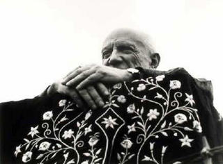 Picasso in Fréjus by Lucien Clergue
