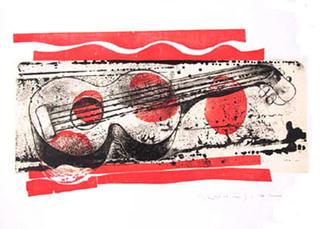 Guitarra by Dionis Bennassar
