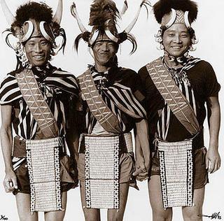 Naga Tribesmen by Tim Hall
