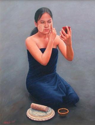 Burmese Beauty by Aung Kyaw Htet