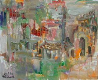 Hanoi in Rain I (Autumn) by Van Duong Thanh