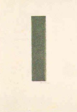 Untitled 11 (P Series) by Joan Hernández Pijuan