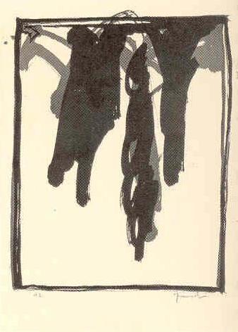 Barcelona 1985 (A.L Lithographs) by Joan Hernández Pijuan