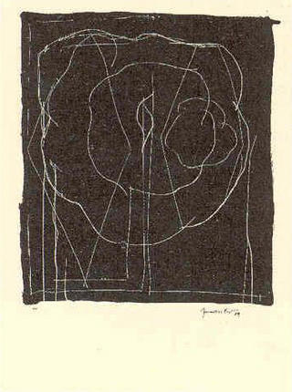 Barcelona 1989 (A.L Lithographs) by Joan Hernández Pijuan