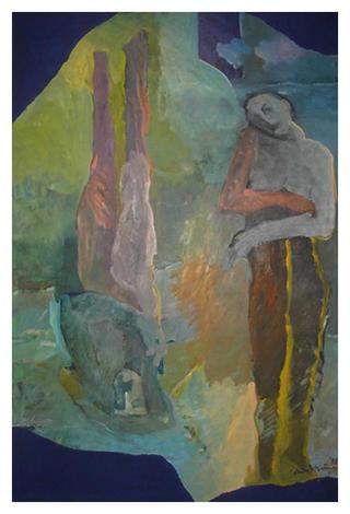 Mirror Couple by Sheila Devine