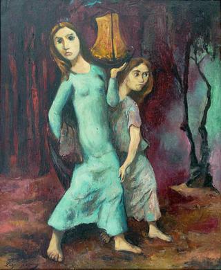 The Promise by Lázaro Lozano