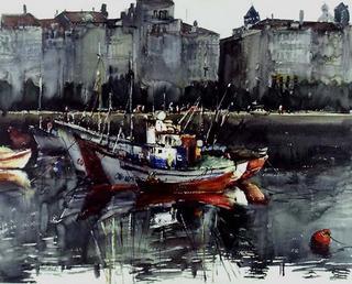 La Coruña Harbour by Ortiz Alfau