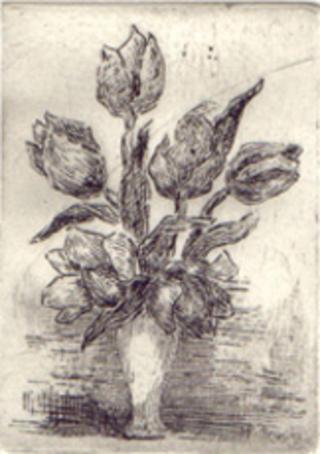Tulips I by Mª Pilar Gracia Ara