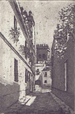 Judería Alley - Sevilla by Mª Pilar Gracia Ara