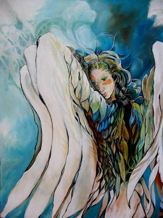 Emerald Angel by Shirley Dickie