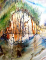 Linda's Pique (Diptych) by Shirley Dickie