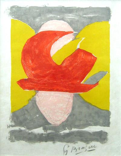 Desente Aux Enfers by Georges Braque