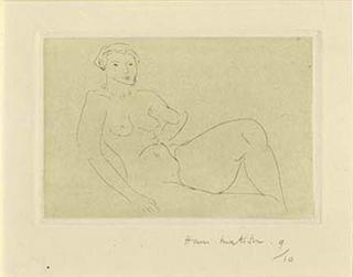 Nu Feline by Henri Matisse
