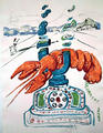 Cybernetic Lobster Telephone (from the Series Imaginations and Objects of the Future) by Salvador Dalí