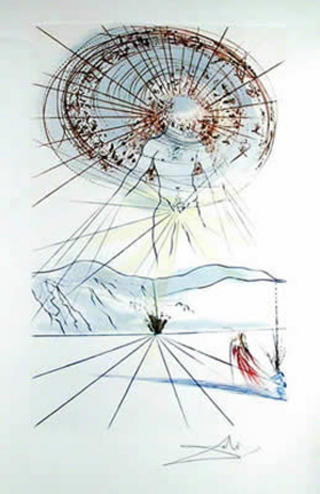 Canto  6(from the Series The Song of Songs of King Solomon) by Salvador Dalí