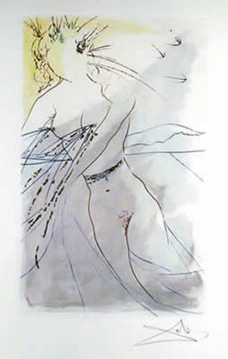 Canto 9 (from the Series The Song of Songs of King Solomon) by Salvador Dalí