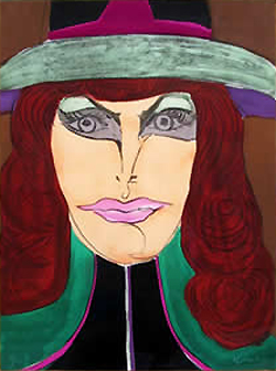 Red Head by Richard Lindner