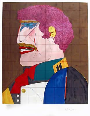 Profile by Richard Lindner