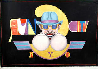 Fun City by Richard Lindner