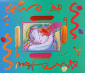I Love the World II by Peter Max