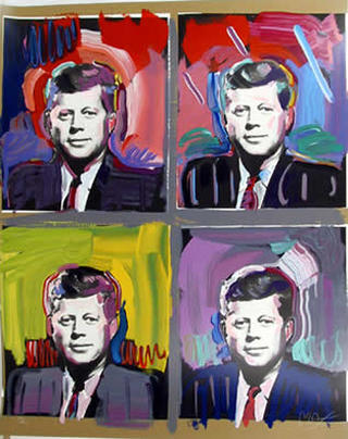 JFK by Peter Max