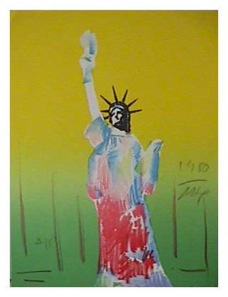 Liberty 3 by Peter Max