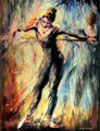 Dancer 2 by Leonid Afremov