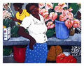 Tropical Flowers by David Azuz