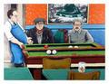 Pool Hall by David Azuz