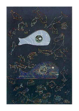 Big Fish Eat Little Fish #2 by Martin Barooshian