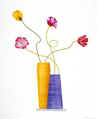Four Italian Poppies by Ed Baynard