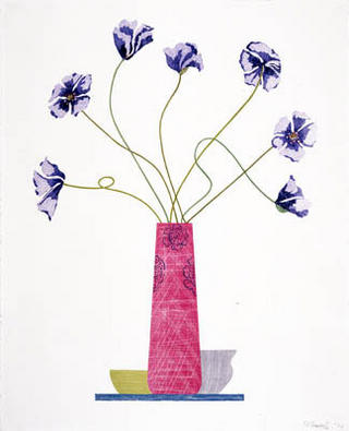 Violet Poppies by Ed Baynard