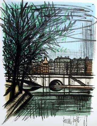 La Seine by Bernard Buffet