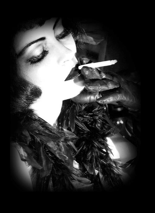 Pola Negri - Silent Era Vamp (from the Metamorphosis Series) by Dellfina&Dellacroix