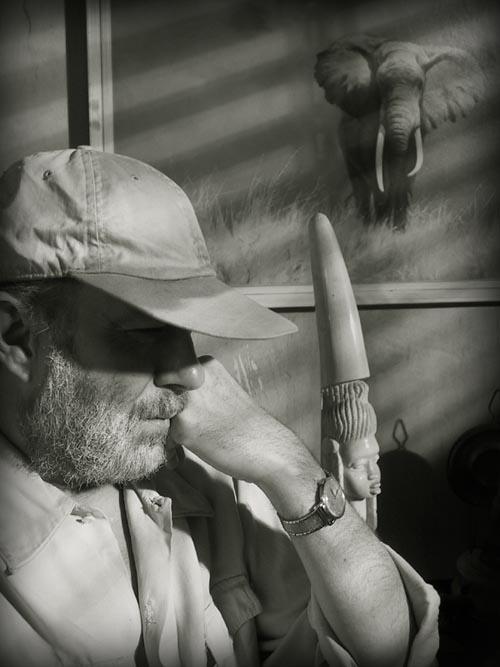 Ernest Hemingway - Mucho Writer (from the Metamorphosis Series) by Dellfina&Dellacroix